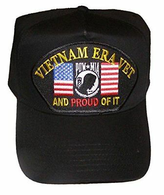 VIETNAM ERA VET PROUD OF IT HAT CAP POW MIA US FLAG PRISONER WAR MISSING ACTION
