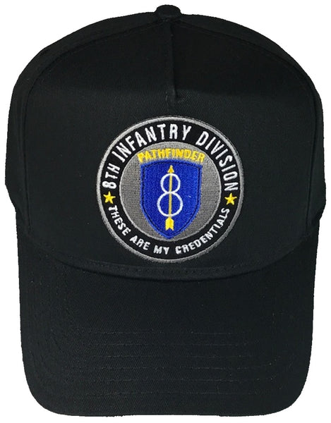 8TH INFANTRY DIVISION HAT - HATNPATCH