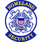 U S C G HOMELAND SECURITY SEMPER PARATUS 1790 Round Patch - Color - Veteran Owned Business. - HATNPATCH
