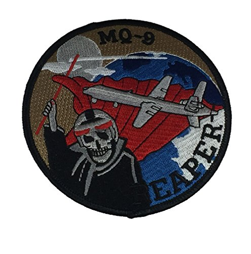 USAF MQ-9 REAPER PATCH - Color - Veteran Owned Business