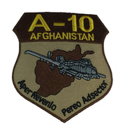 A-10 AFGHANISTAN PATCH