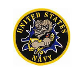 UNITED STATES NAVY CHIEF GOAT Patch - Color - Veteran Owned Business. - HATNPATCH
