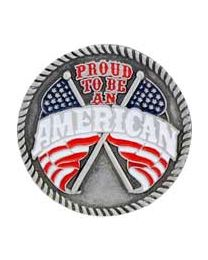 Proud To Be An American Pin - HATNPATCH