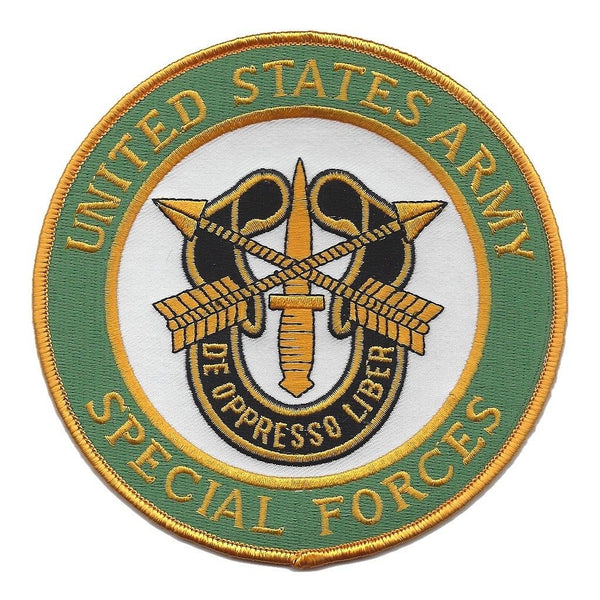 SPECIAL FORCES DE OPPRESSO LIBER PATCH GREEN BERET SPEC OPS QUIET PROFESSIONALS