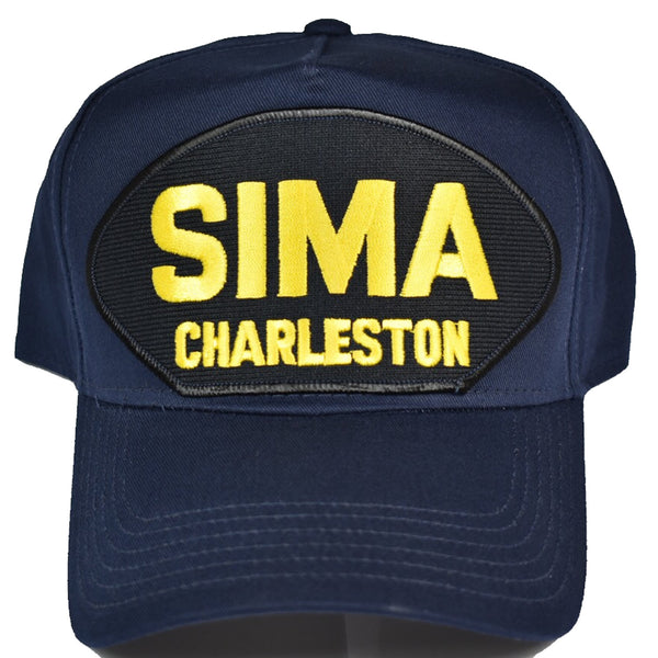 SHORE INTERMEDIATE MAINTENANCE ACTIVITY CHARLESTON SC SIMA Hat - NAVY BLUE - Veteran Owned Business