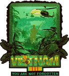 Large Vietnam Jacket Back Patch - 2 - HATNPATCH