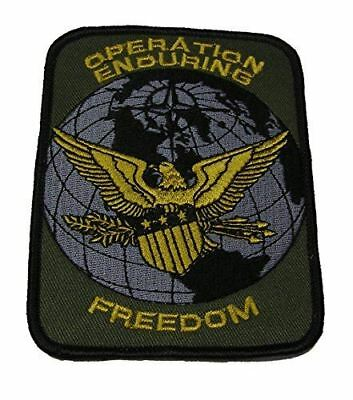 OPERATION ENDURING FREEDOM OEF W/ EAGLE PATCH AFGHANISTAN VETERAN - HATNPATCH