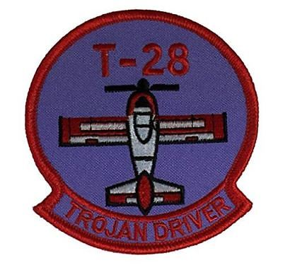 T-28 TROJAN DRIVER PATCH USAF AIR FORCE USN NAVY