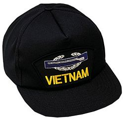 US ARMY VIETNAM CIB HAT