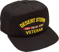OPERATION DESERT STORM VET - HATNPATCH