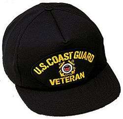 US COAST GUARD VET HAT