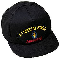 1ST SPECIAL FORCES AIRBORNE HAT - HATNPATCH