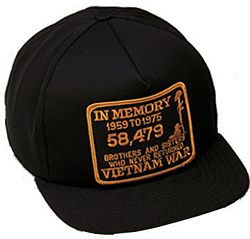 IN MEMORY VIETNAM HAT - HATNPATCH