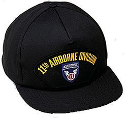 11TH AIRBORNE DIV HAT - HATNPATCH