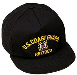 US COAST GUARD RETIRED HAT
