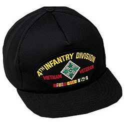 4TH INF DIV VIETNAM VET HAT