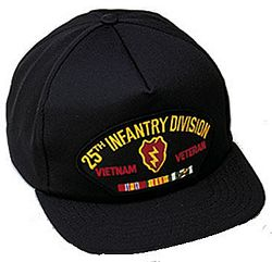 25TH INF DIV VIETNAM VET HAT