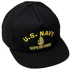 US NAVY SCPO RETIRED - HATNPATCH