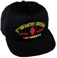 5TH INF DIV VIETNAM VET HAT - HATNPATCH