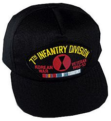 7TH INF DIV KOREAN WAR VET HAT - HATNPATCH