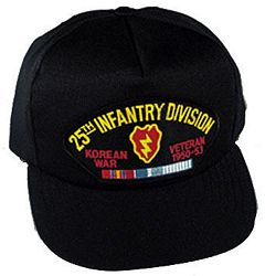 25TH INF DIV KOREAN WAR VET HAT - HATNPATCH