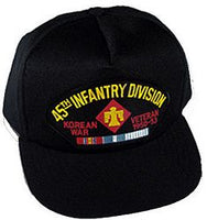 45TH INFANTRY DIV KOREAN WAR VET HAT