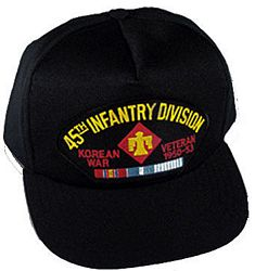 45TH INFANTRY DIV KOREAN WAR VET HAT - HATNPATCH