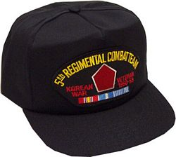 5TH RCT KOREAN WAR VET HAT