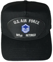 US AIR FORCE MSGT RETIRED HAT