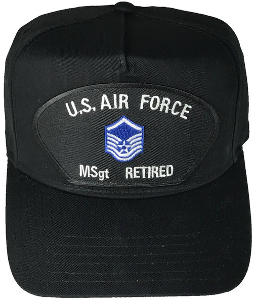 US AIR FORCE MSGT RETIRED HAT - HATNPATCH