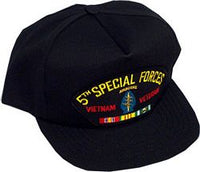 5TH SPECIAL FORCES VIETNAM VET HAT