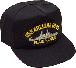 USS ARIZONA BB-39 - HATNPATCH