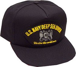 USN DEEP SEA DIVER - HATNPATCH