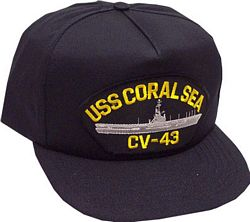 USS CORAL SEA CV-43 - HATNPATCH