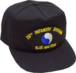 29TH INF DIV HAT - HATNPATCH