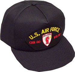 US AIR FORCE RED HORSE HAT
