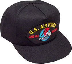 US AIR FORCE RED HORSE CHARGING CHARLIE HAT - HATNPATCH