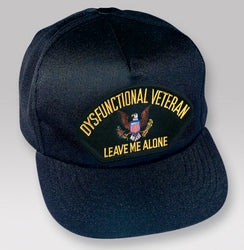DYSFUNCTIONAL VETERAN HAT - HATNPATCH