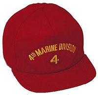 4TH MAR DIV HAT - HATNPATCH