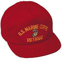 USMC RETIRED HAT - HATNPATCH