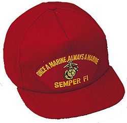ONCE A MARINE HAT