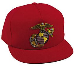 USMC EAGLE, GLOBE and ANCHOR HAT - HATNPATCH