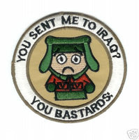 You Sent Me To Iraq? You Bastards! Patch - HATNPATCH