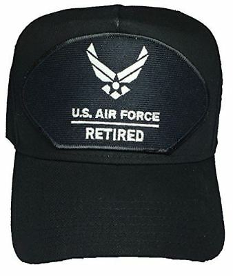 USAF AIR FORCE RETIRED W/ HAP ARNOLD LOGO HAT CAP AIRMAN SERVICE PROUD