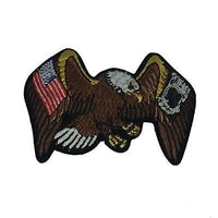 AMERICAN EAGLE WITH USA POW MIA FLAGS PATCH PRISONER OF WAR MISSING IN ACTION