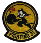 "U.S. NAVY STRIKE FIGHTER SQUADRON VFA 31 ""TOMCATTERS"" SQUADRON PATCH - Color - Veteran Owned Business - HATNPATCH"