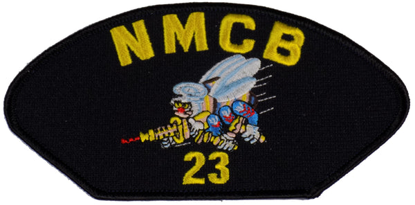 NAVAL MOBILE CONSTRUCTION NMCB-23 PATCH - Found per customer request! Ask Us!