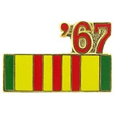 1967 VIETNAM SERVICE RIBBON LAPEL OR HAT PIN - HATNPATCH