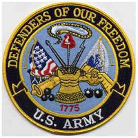 DEFENDERS OF OUR FREEDOM - U. S. ARMY PATCH