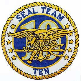 US NAVY SEAL TEAM TEN Patch - Color - Veteran Owned Business.
